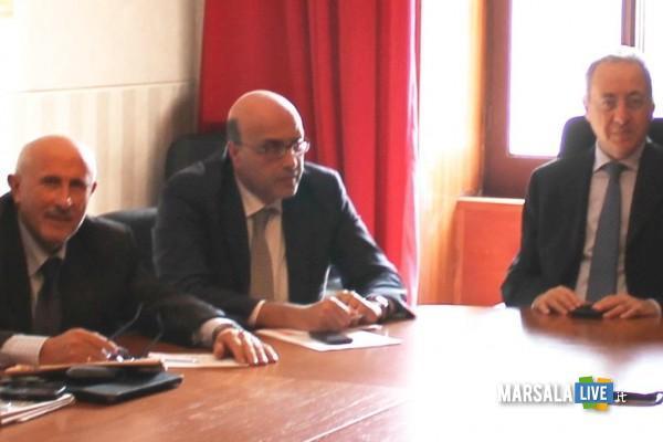 Gaspare Barraco, Umberto Massocco e Leopoldo Falco