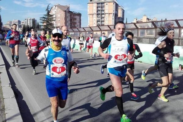 Atl. - Michele D'Errico alla maratona di Terni