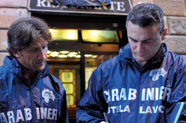 Carabinieri Nucleo Ispettorato del Lavoro