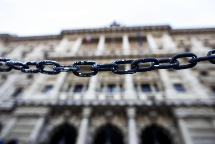 La Corte di Cassazione, 12 dicembre 2015 a Roma. ANSA/ MASSIMO PERCOSSI