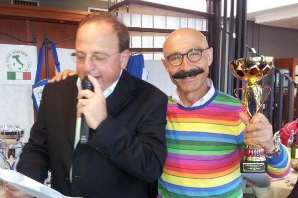 Michele D'Errico premiato a Terni dal Club Supermaraton Italia