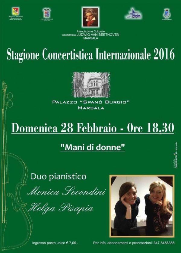 il duo Secondini Pisapia marsala live