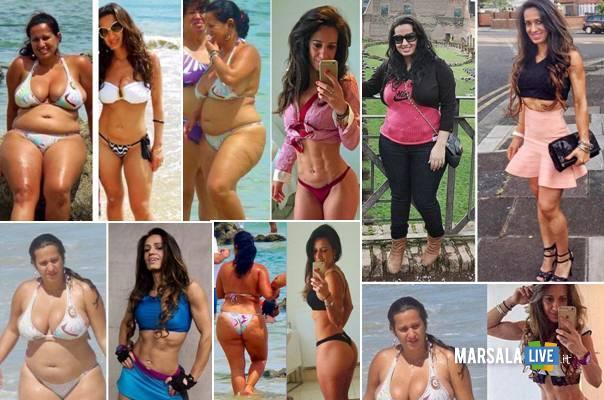 prima e dopo dieta