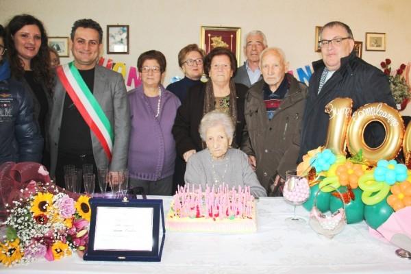 nonnina 100 anni marsala