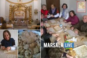 Altare e panuzzi di San Giuseppe Ventrischi Marsala Live