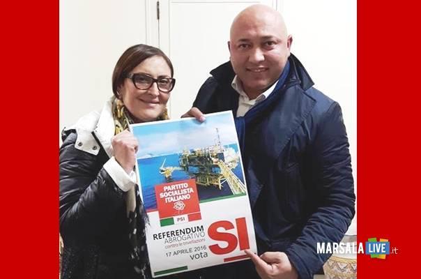 Cathy Marino e Francesco Foggia marsalalive