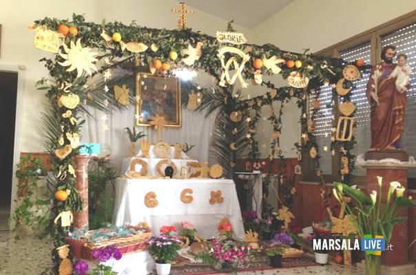 Centro Diurno Sacro Cuore san giuseppe altare marsalalive