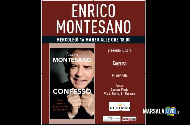 Enrico Montesano alle Cantine Florio marsalalive