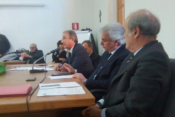 Fabrizio De Nicola, Baldo Gucciardi, Antonio Siracusa