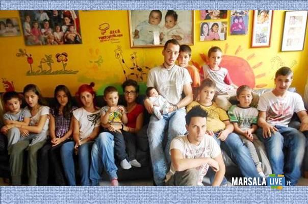 Famiglia Calò 14 figli marsalalive