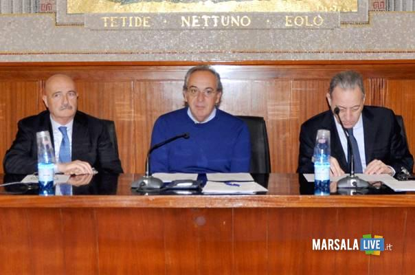 Franco Giudice, Giuseppe Pino Pace, Leopoldo Falco marsalalive