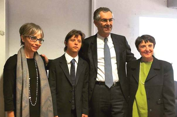 Gianluca Spaziani si laurea a Palermo down marsalalive