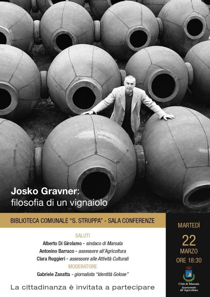 Josko Gravner 22 marzo
