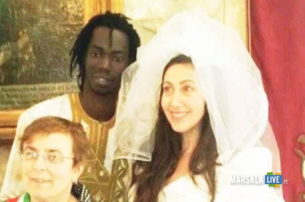 Kawsu Jammeh immigrato Brandy Dediosa si sposa tramite facebook marsalalive