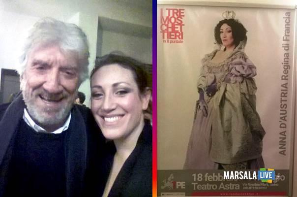 Marcella Favilla e Gigi Proietti marsalalive