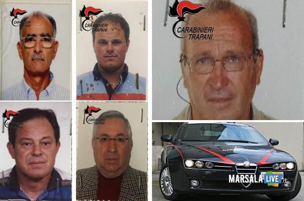 Mariano Saracino, Vito Turriciano, Vincenzo Artale, Martino Badalucco, Vito Badalucco marsalalive