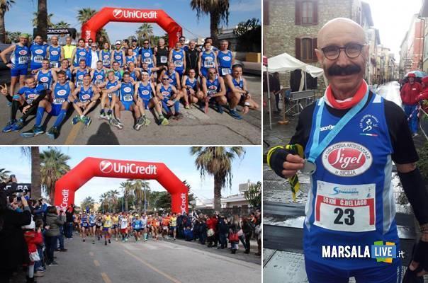 Pol. Marsala Doc alla Mezzamaratona di Agrigento marsalalive