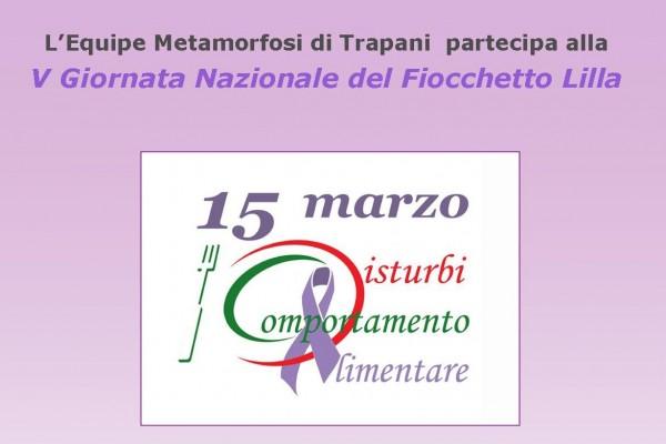 Quinta giornata nazionale Fiocchetto Lilla marsala live