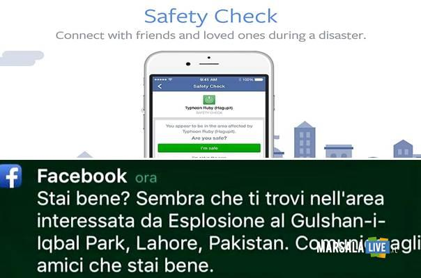 Safety Check facebook stai bene attentato marsalalive