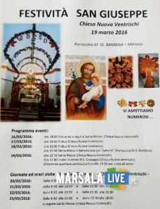San Giuseppe Ventrischi Marsala Live