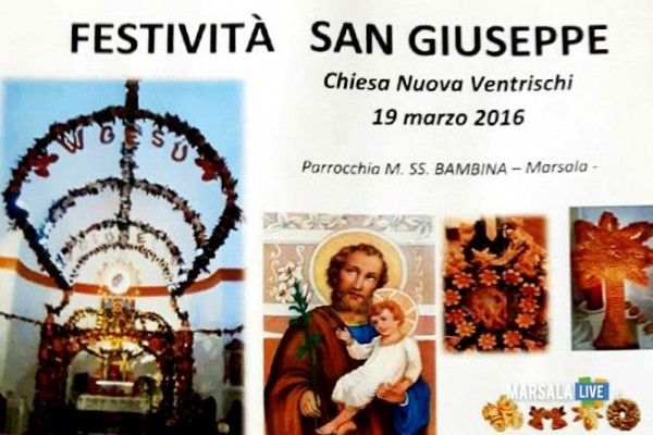 San Giuseppe Ventrischi MarsalaLive