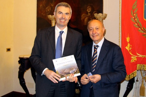 Stefano Farina in visita al Comune di MarsalaLive