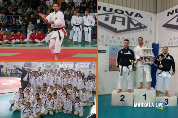 Trinacria Cup Shotokan karate do club Vito Genna Marsalalive