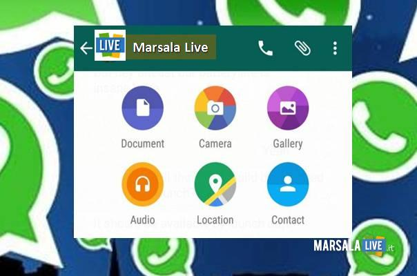 WhatsApp invio documenti marsalalive