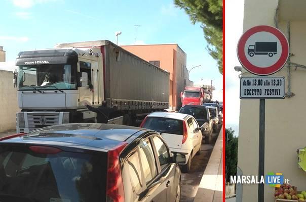 divieto transito alcide de gasperi strasatti marsalalive