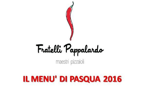 fratelli Pappalardo Menu pasqua marsalalive