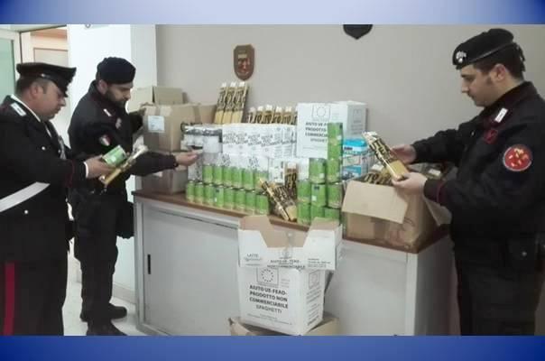 in casa cibo rubato alla Caritas marsalalive