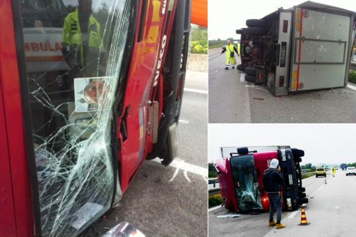 incidente a29 camion castelvetrano marsalalive
