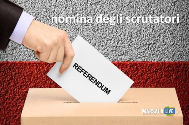 nomina scrutatori referendum marsalalive