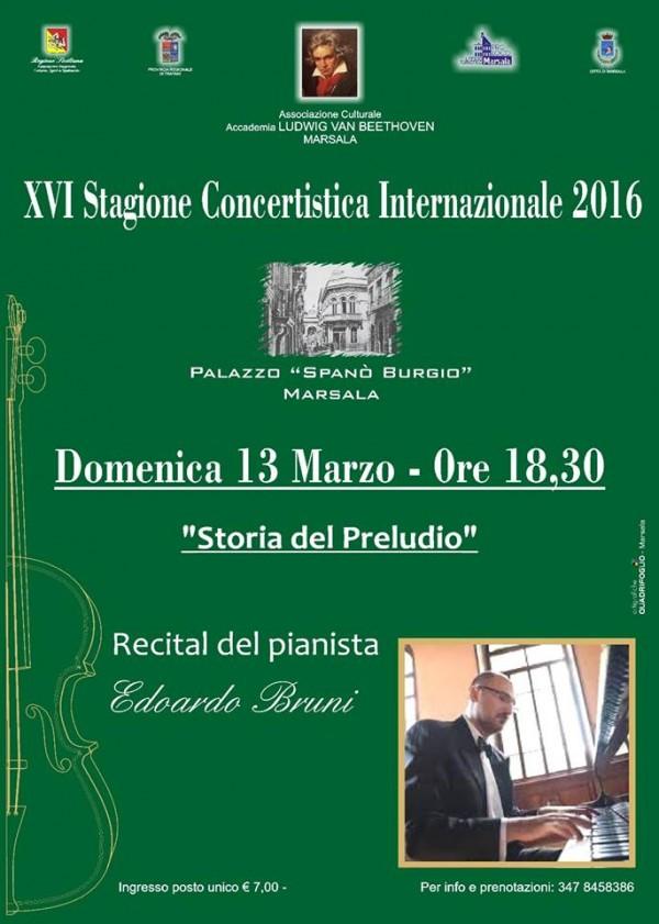 pianista Edoardo Bruni marsala live