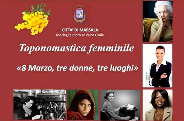 toponomastica femminile - biografie marsalalive