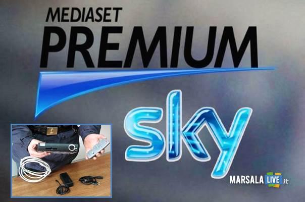 truffa a Sky e Mediaset Premium marsalalive