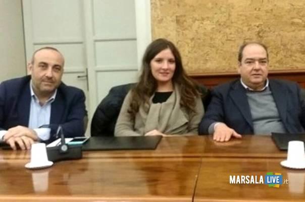 Flavio Coppola, Eleonora Milazzo, Giovanni Sinacori marsalalive