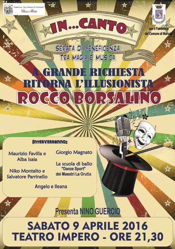IN...CANTO rocco borsalino marsala live