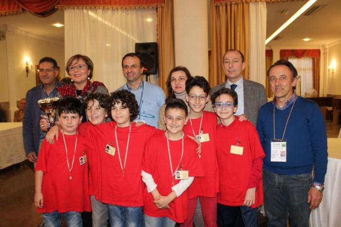 L'IC Sturzo-Sappusi Campioni Regionali