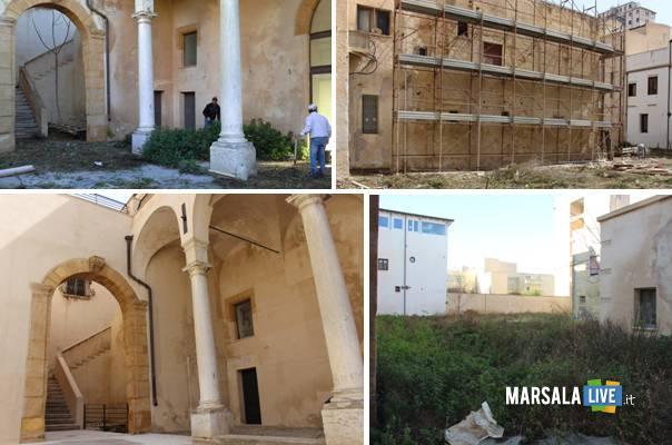 Marsala Palazzo Grignani, verso il completamento dei lavori live