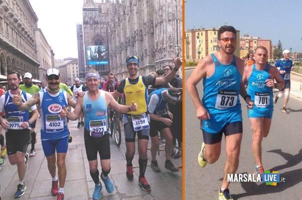 Polisportiva Marsala Doc a Milano e Roma maratona marsalalive