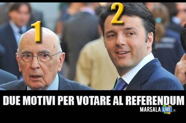 napolitano-renzi-referendum-gaspare-barraco-marsala