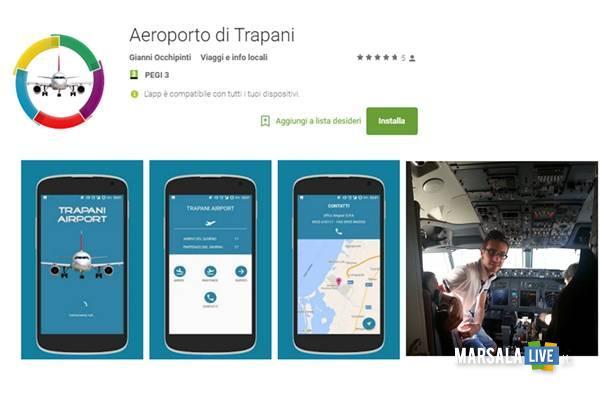 App-Android-gratuita-aeroporto-Trapani-Birgi-Gianni-Occhipinti