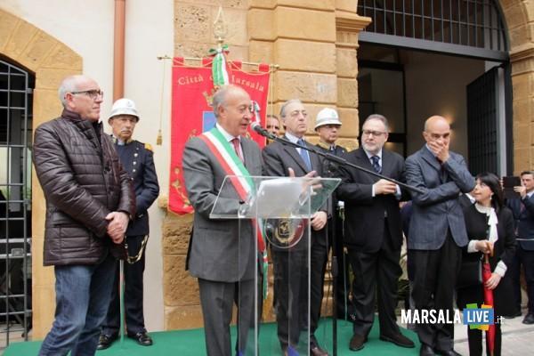 Celebrazioni-Garibaldine-marsala  Saluti inaugurali