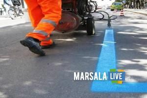 Marsala-nuove-strisce-blu-via-sibilla-e-via-delle-sirene