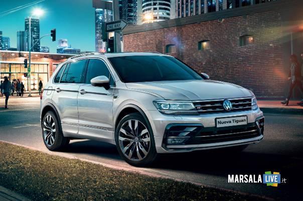Nuova-Volkswagen-Tiguan-con-il-Trapani-Calcio