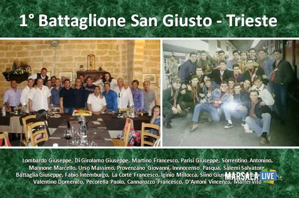 25 anni i militari del 1° Battaglione San Giusto Trieste.