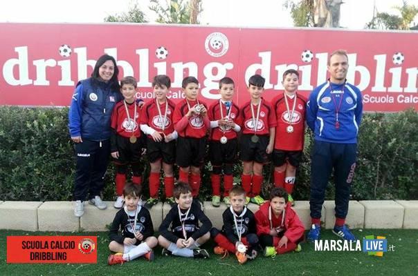 Dribbling-Marsala-scuola-calcio-Fiumara-del-Sossio-2016