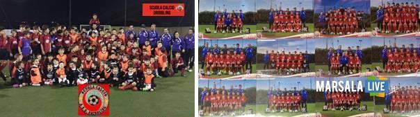 Dribbling-scuola-calcio-Marsala-Fiumara-del-Sossio-2016