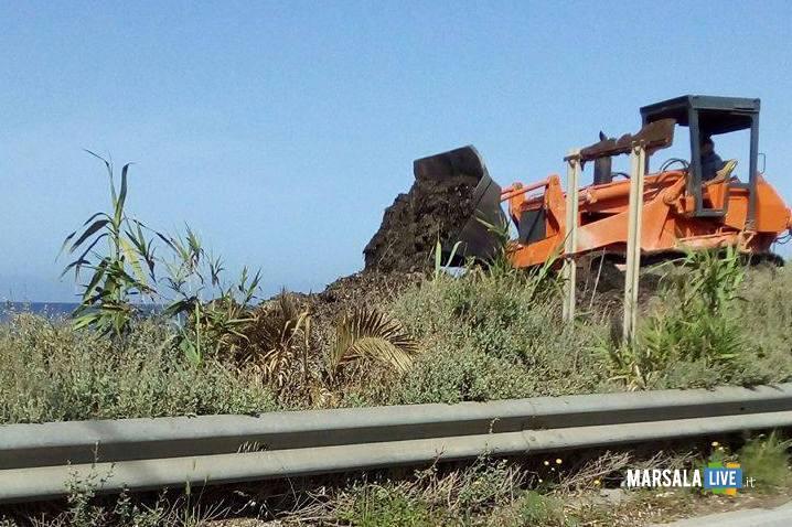 Marsala-Alghe-ammucchiate-spiagge-libere